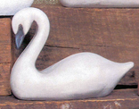 FORM C1919, SM CARVED SWAN
